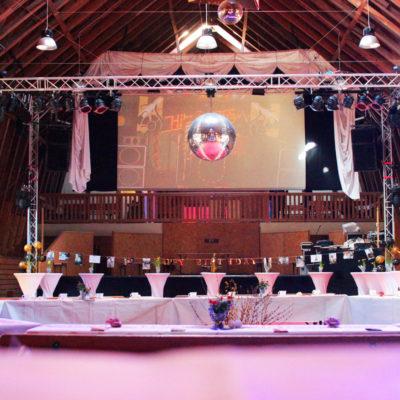 Geburtstagslocation mieten - Veranstaltungsscheune in Sachsen